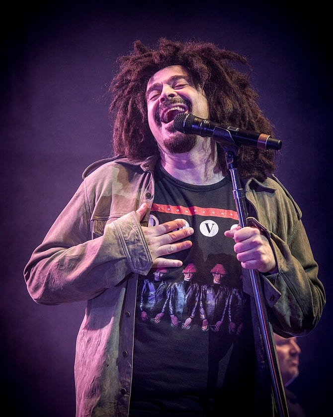 Adam Duritz has a passion for music and keeping in contact with fans