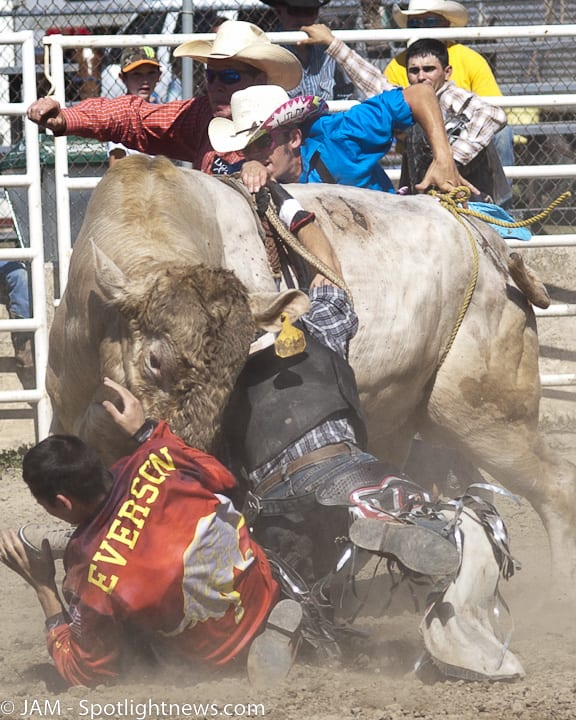 Double M Professional Rodeo Bucks the Tech Trend