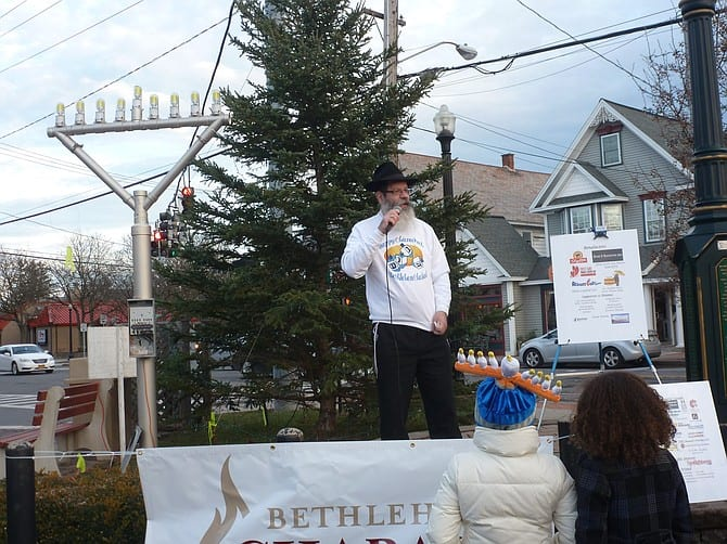 Bethlehem Chabad's Hanukkah celebration grows