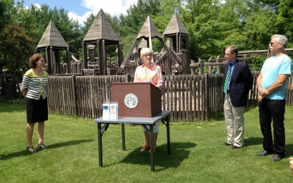 Town prioritizing parks and recreation projects; grant money to be used