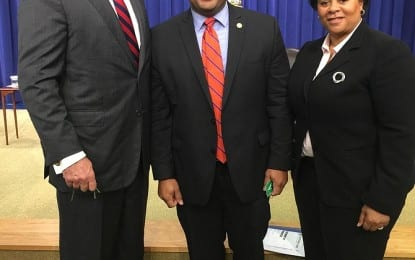 District Attorney David Soares and nation leaders seek criminal justice reforms in D.C.