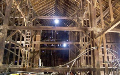 Hail Mary possible for historic barn