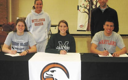 Bethlehem trio sign their letters of intent