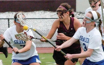 Girls lacrosse: Shaker falls in opener