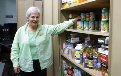 Food pantry works to keep shelves full
