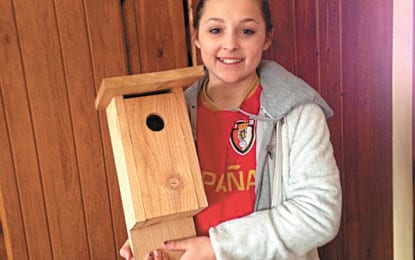 Fundraising for a friend helps the birds