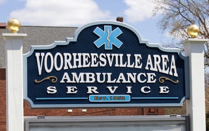 Voorheesville Area Ambulance Service contract signed