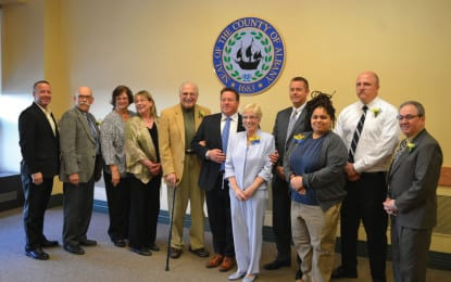 Albany County honors volunteers