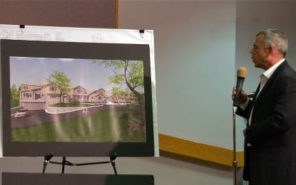 Tempers flare over Guilderland apartment project