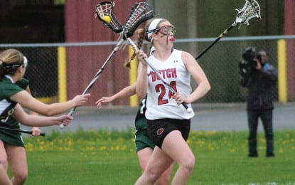 Girls lacrosse: Guilderland sails into Sectional final