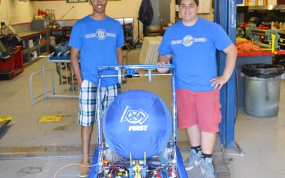 Fund drive for Colonie Central High School robotics team