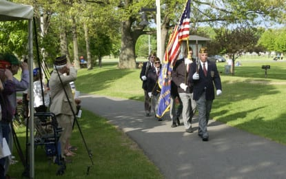 Colonie remembers