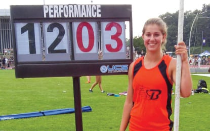 Track and field: Tedi DeMaria sets the standard
