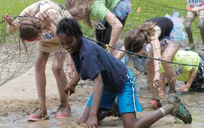 Good, dirty fun at Tawasentha Mud Mania