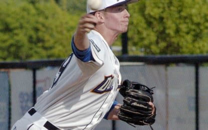 Spencer Hotaling pitches Albany Dutchmen out of skid