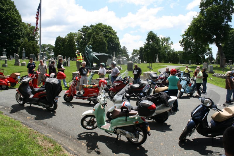 Scooting for a cause