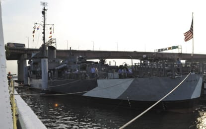 USS Slater returns to Albany