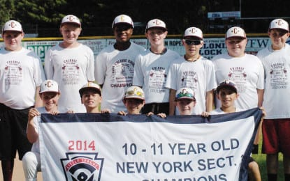 Colonie Little League teams head west