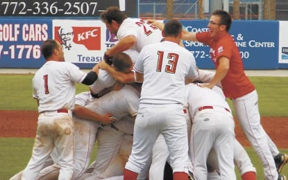 Albany Athletics win Stan Musial World Series