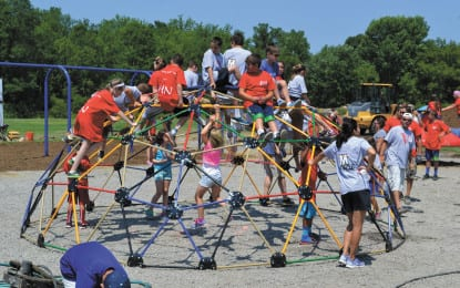 North Colonie Central School District officially accepts Vinnie's playground