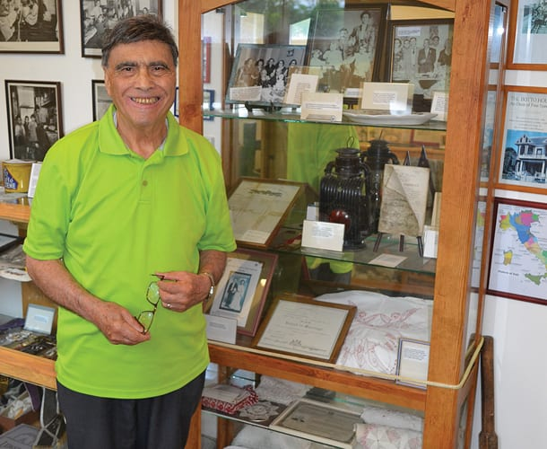 High-end thrift shop opens at Italian American museum