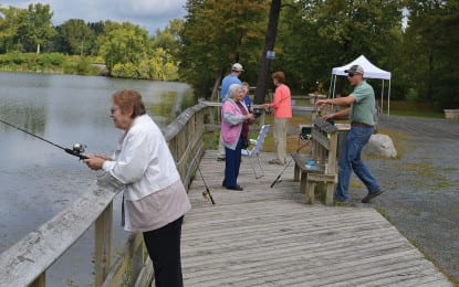 Getting seniors hooked on fishing