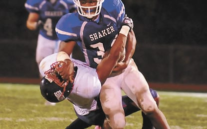 High school football: Shaker fends off Shenectady in semis