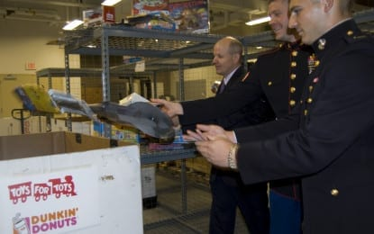 Toys for Tots chugs on