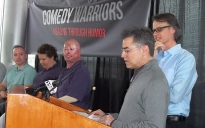 The warriors of comedy