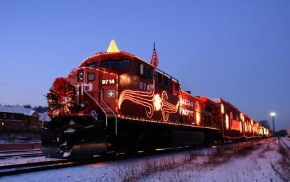 Canadian Pacific Holiday Train to stop at ALCO