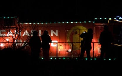Holiday Train brings festive cheer