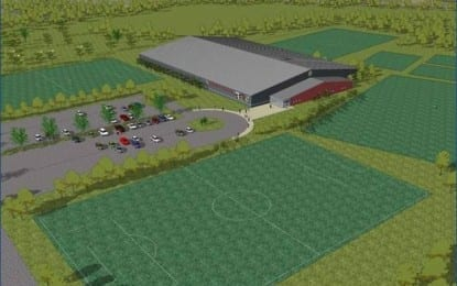 Soccerplex plans scaled back