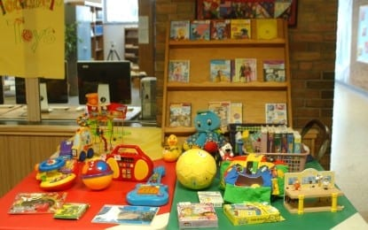 Elementary toy sale benefits Schoharie Co. school