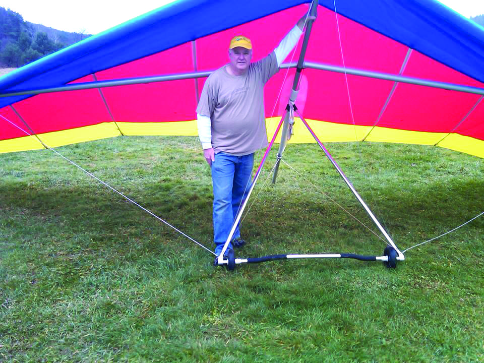 Soaring above the world: Gary Casper rediscovers his love for hang gliding