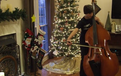 Bassist lays down a top score