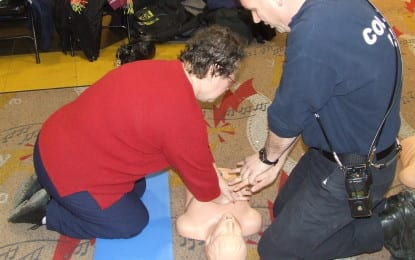 Colonie offers CPR training
