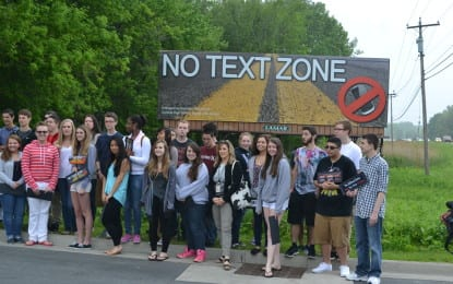 Colonie teens speak out against distracted driving