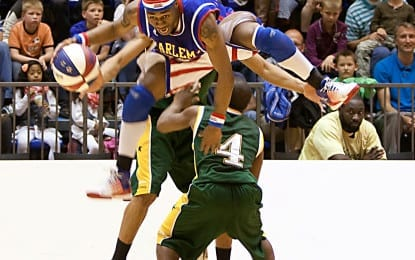 Former Siena Saint returns to the area as a Globetrotter