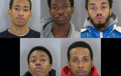 Five arrested for burglarizing Glenmont Job Corps