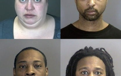 Four arrested after shots fired in Colonie