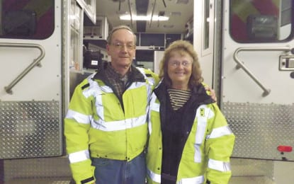 Ballston couple recognized for many decades of volunteerism