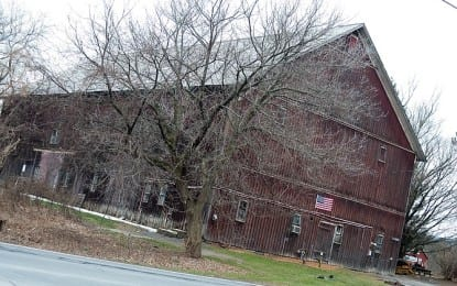 New Scotland officials announce that town has secured funding from Albany County to move the Hilton Barn