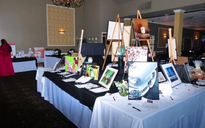 Upstate Artists Guild's annual Black & White Gala hosted by Overit Media this year