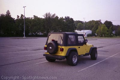 A murder trial's silent witness: the unmistakable yellow Jeep