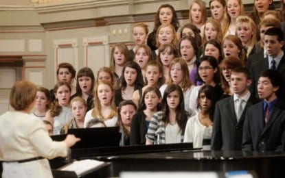Colonie music gets national recognition