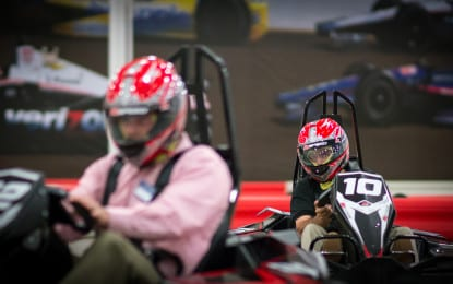 Indoor kart racing facility reopens under new company