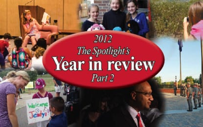 2012 in Review, Part 2, Colonie