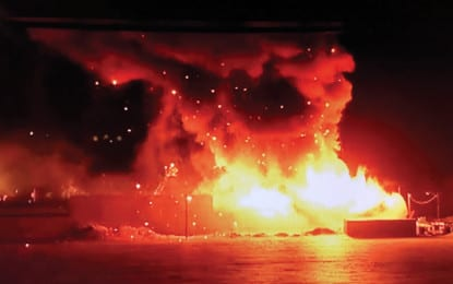 Firefighters quell Bethlehem Industrial Park inferno