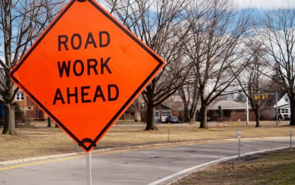 Lane closure on Route 85 eastbound Saturday