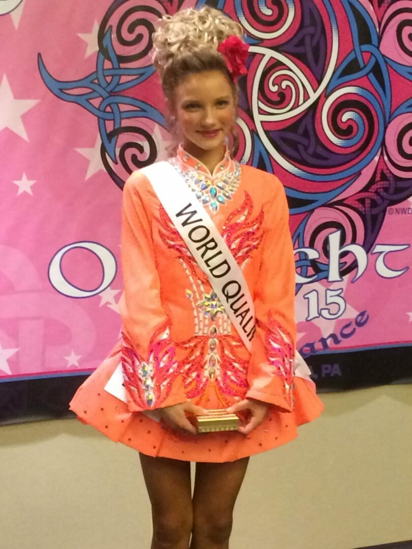 A lucky young lady: Irish step dancer headed to world championships after battling illness